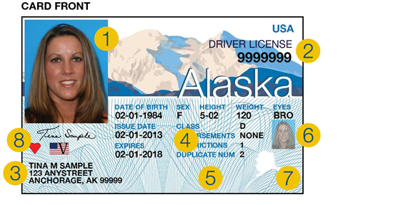 Driver License Front ...