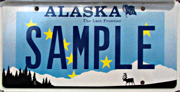License Plates Division Of Motor Vehicles Department Of Administration State Of Alaska