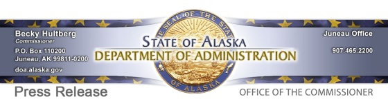 Department of Administration Press Release